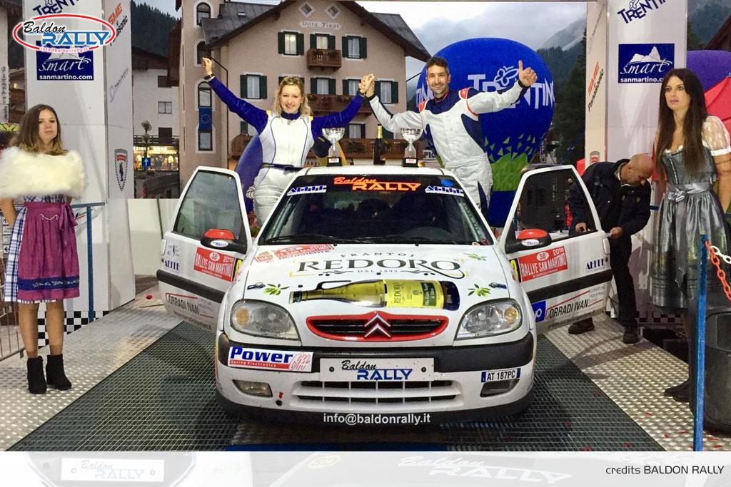 Valpolicella: Baldon Rally con Vinco e Cecchin