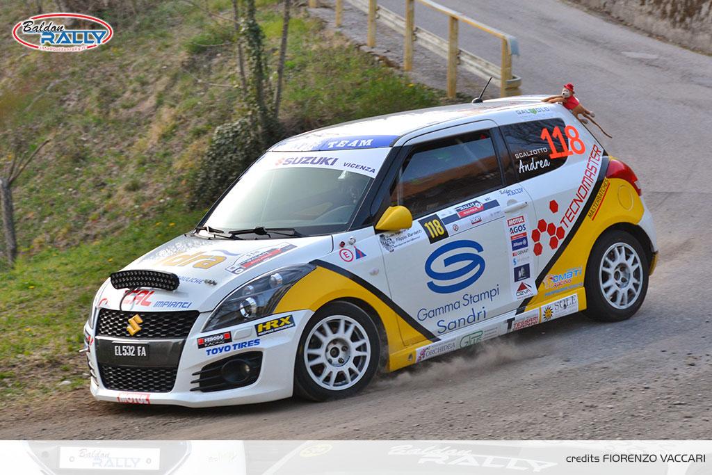 Baldon Rally mette nel mirino il Trofeo Suzuki