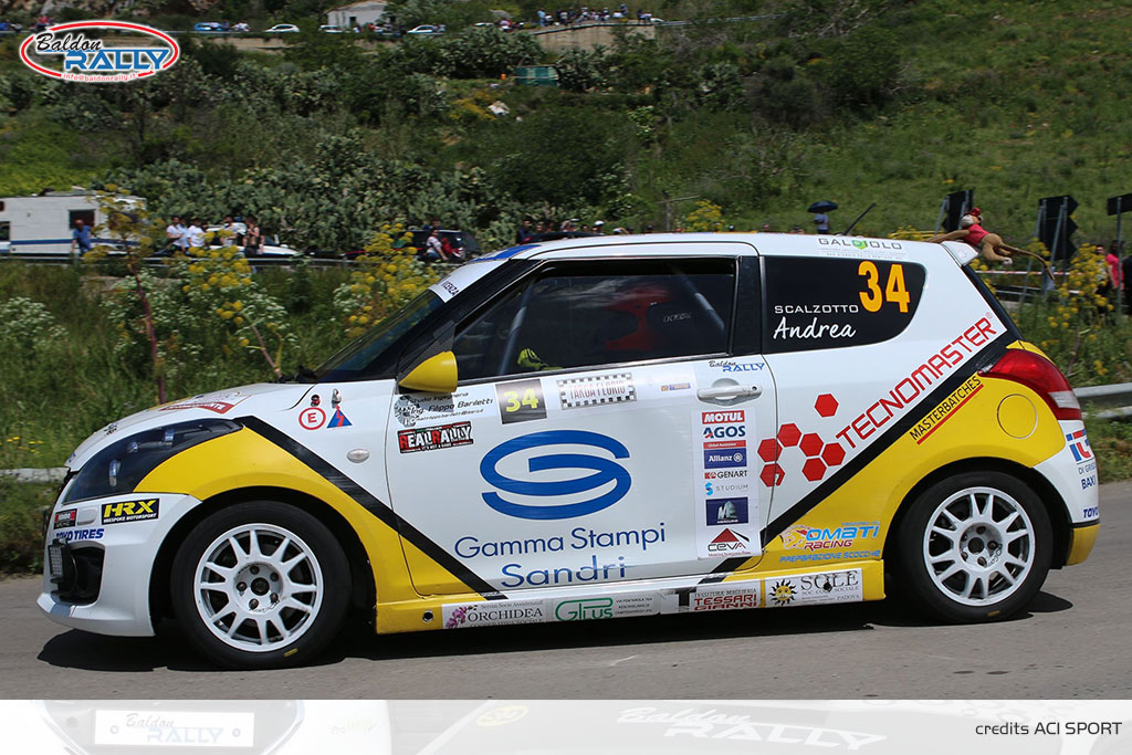 Baldon Rally veste Suzuki per il Marca