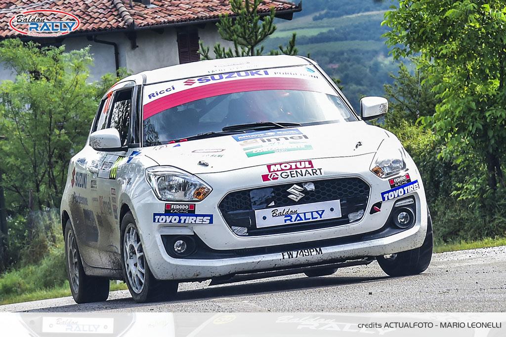 Baldon Rally a trazione Suzuki in Trentino