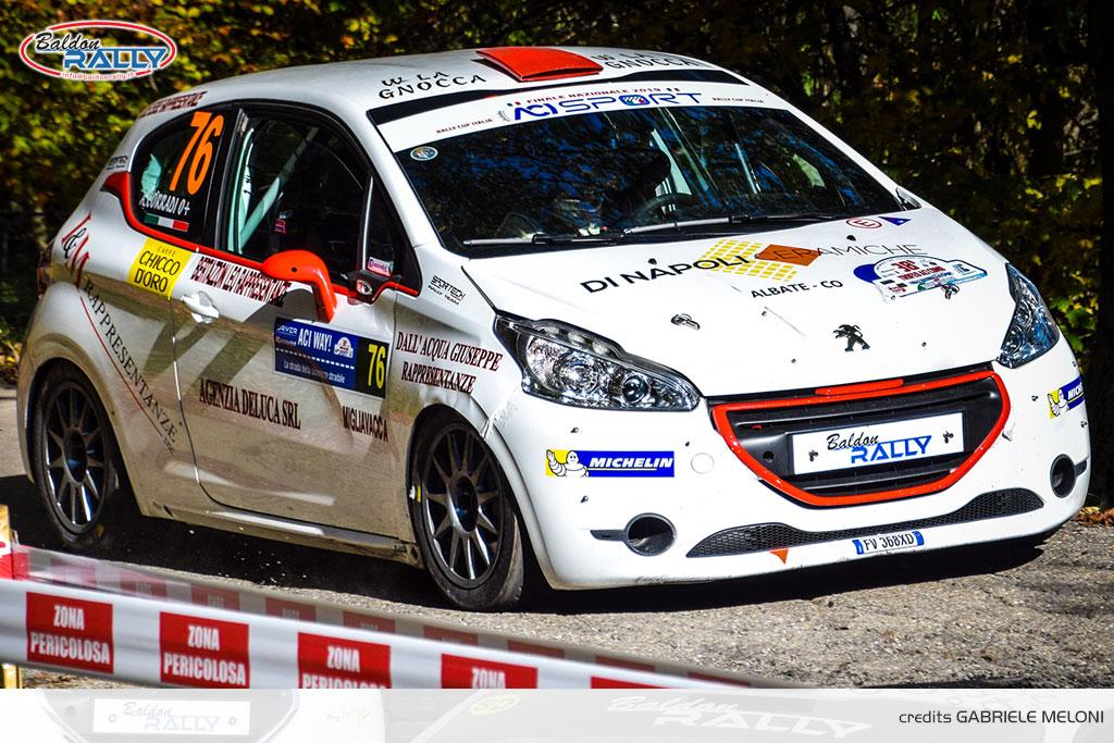 Schenetti e Baldon Rally, numeri uno a Como