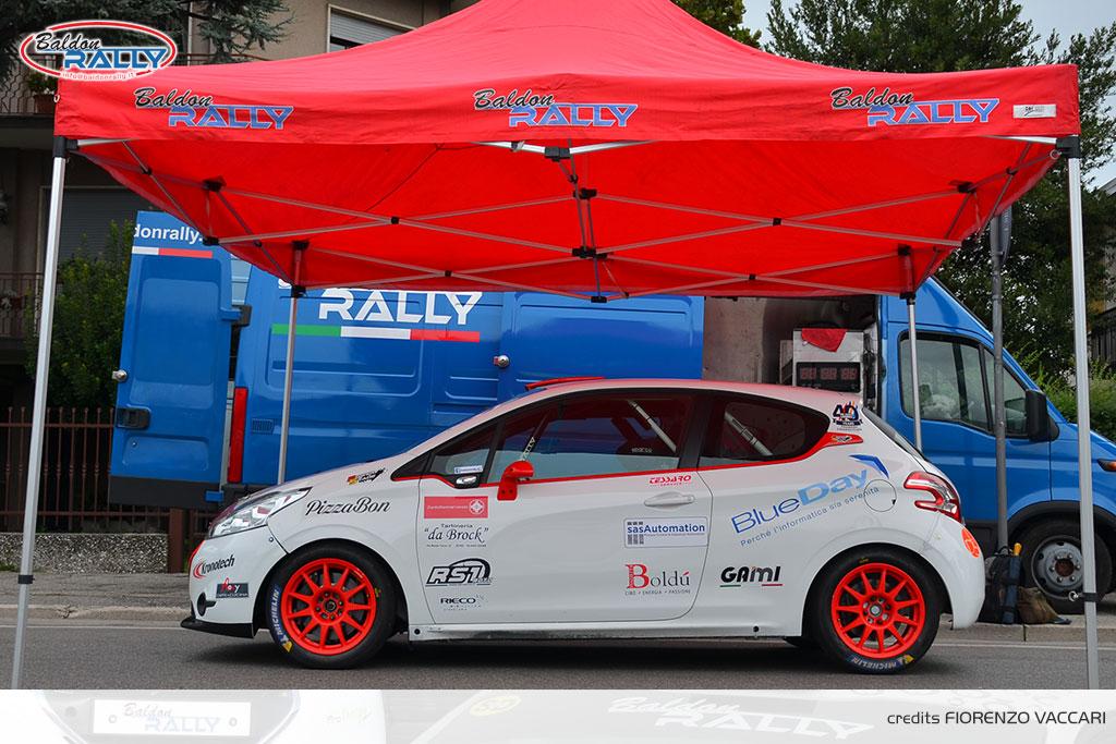 Baldon Rally cambia pelle, punta tutto sulla 208