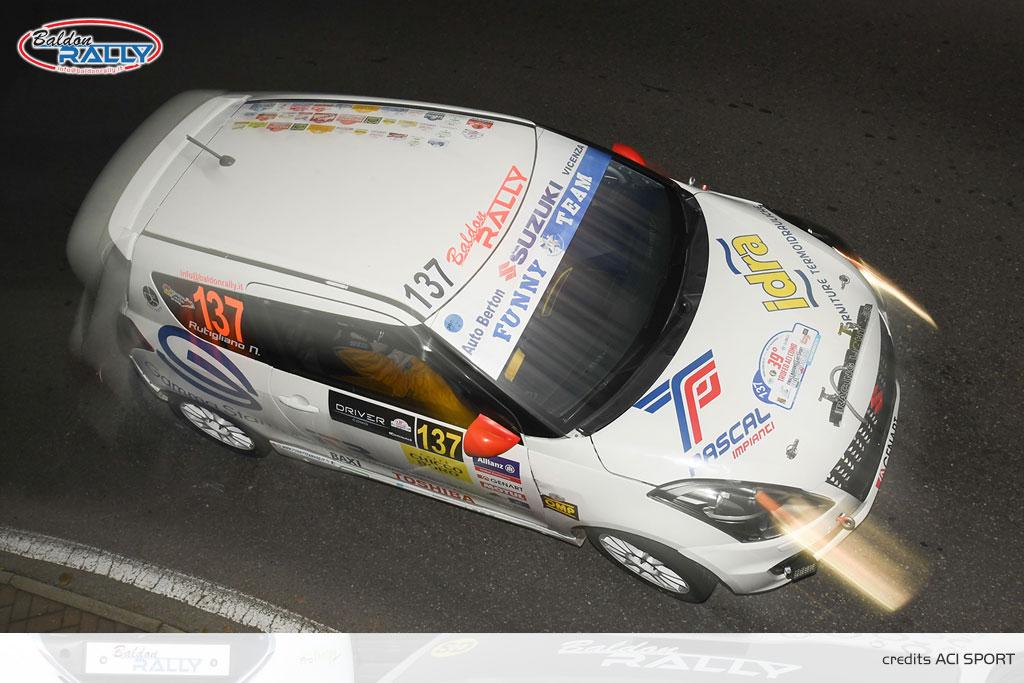 Doppietta Baldon Rally nella Suzuki Rally Cup