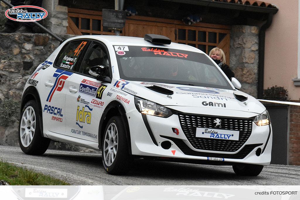 Baldon Rally e la nuova Peugeot 208 Rally 4