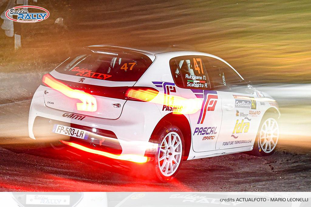 Baruffa, al Tuscan Rewind, porta al debutto la Peugeot 208 Rally 4