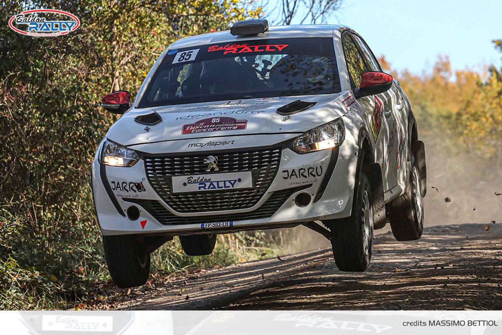 Ottimo debutto di Baruffa, su Peugeot 208 Rally 4, al Tuscan Rewind