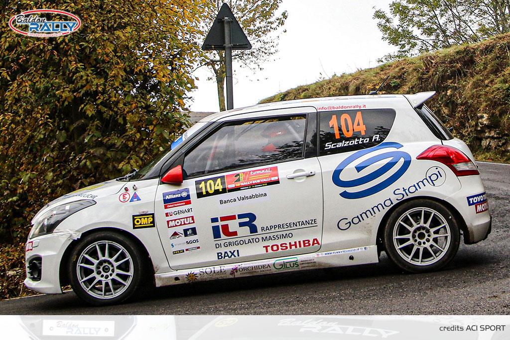 Scalzotto vuole il bis nella Suzuki Rally Cup